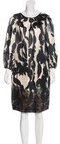 Piazza Sempione Ikat Print Shift Dress