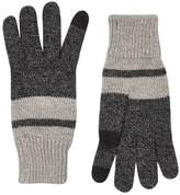 Topman Charcoal Gray Gloves