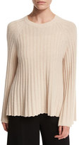 Elizabeth and James Baker Ribbed Crewneck Pullover Sweater