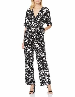 Find. Amazon Brand Women's Summer Short Sleeve Jumpsuit