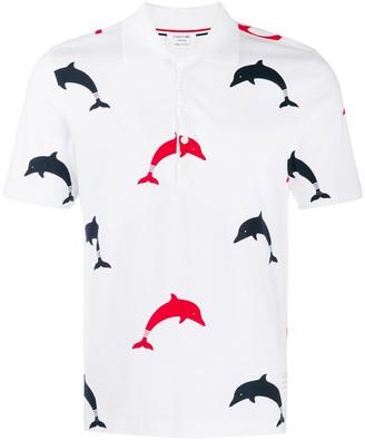 Thom Browne Dolphin Polo Shirt