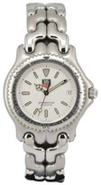 Tag Heuer S/el S99.006K Stainless Steel with White Dial 38mm Mens Watch