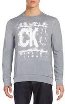 CK Calvin Klein Watermark Crewneck Tee