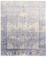F.J. Kashanian Hampton Hand-Knotted Wool and Silk Rug