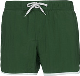 Topman Green Swim Shorts
