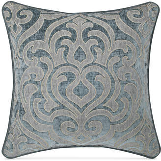 "J Queen New York Sicily Teal 20"" Square Deocrative Pillow Bedding"