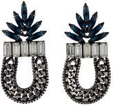 Dannijo Crystal Chain-Link Earrings