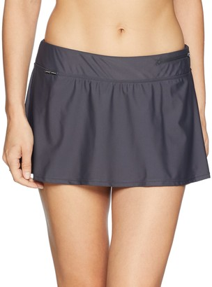 ZeroXposur Women's Swim Skirt Bottom with Brief