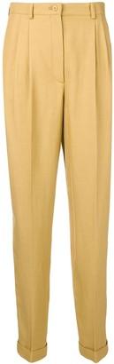 Alberta Ferretti Tapered High-Rise Trousers