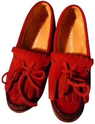 Melvin & Hamilton Melvin&hamilton Red Leather Flats