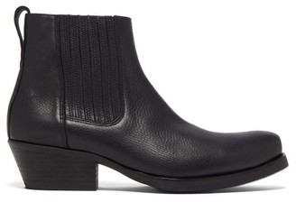Our Legacy Cuban-heel Leather Boots - Black