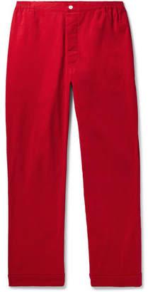 Sleepy Jones Marcel Cotton-Corduroy Pyjama Trousers