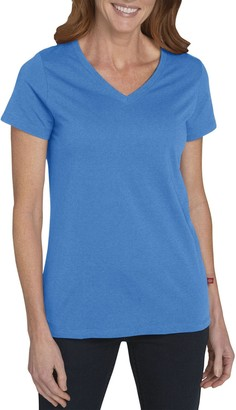 Dickies Women's Short Sleeve V-Neck Tee