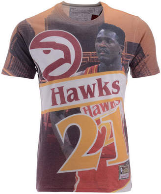 Mitchell & Ness Men Dominique Wilkins Atlanta Hawks City Pride Name And Number T-Shirt