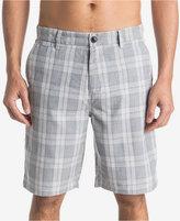 Quiksilver Men's Regeneration Plaid Shorts