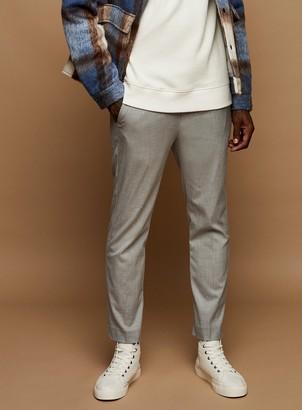 Topman Grey Jogger Trousers