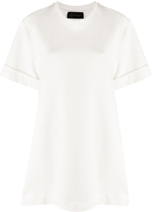 Mr & Mrs Italy pleated T-shirt dress