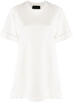 Mr & Mrs Italy pleated T-shirt dress