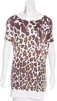 Stella McCartney Printed Short Sleeve Top w/ Tags