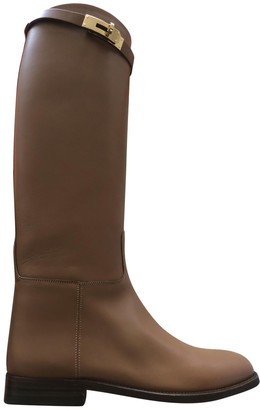 Hermã ̈S HermAs Jumping Camel Leather Boots