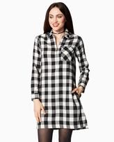 Charming charlie Buffalo Check Shirt Dress