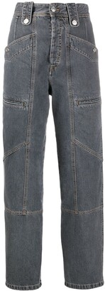Etoile Isabel Marant High-Waisted Denim Trousers