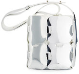 Paco Rabanne 1601 Mini Patchwork Metallic Hobo Bag