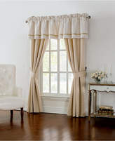 "Waterford Britt Tailored 18"" x 55"" Damask Window Valance"