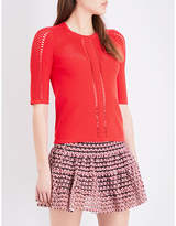 Maje Mania knitted jumper