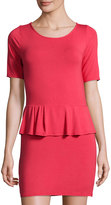 LAmade Jersey Peplum Dress, Twizzler