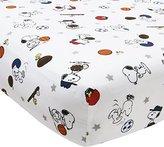 Lambs & Ivy Bedtime Originals Snoopy Sports Sheet by Bedtime Originals