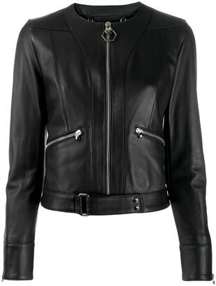 Philipp Plein Statement leather jacket