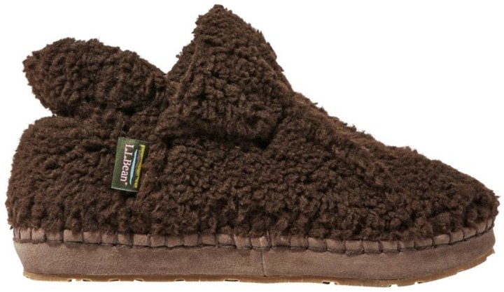 60635b5f535 L.L.Bean Women's Cozy Slipper Booties, Pile Fleece
