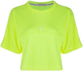 Calvin Klein Jeans cropped short sleeve T-shirt