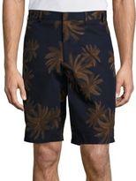 Vince Printed Chino Shorts