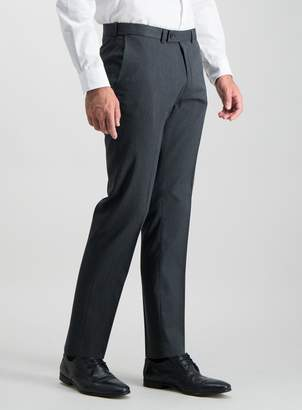Tu Charcoal Grey Tailored Fit Active Waistband Trousers