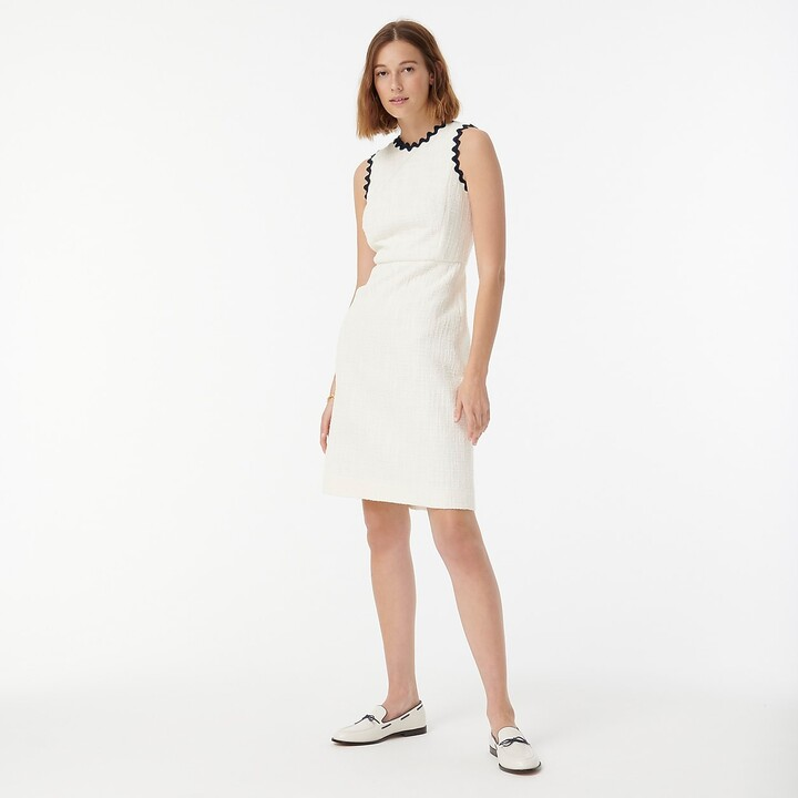 Thumbnail for your product : J.Crew Tall sheath dress in textured tweed