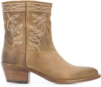 Sartore western embroidered boots