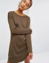 Daisy Street Long Sleeve T-Shirt In Rib