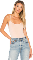 Only Hearts So Fine Low Back Thong Bodysuit in Nude. - size L (also in M,S)