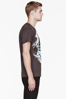 Paul Smith Washed black & Blue Nymphs print t-shirt