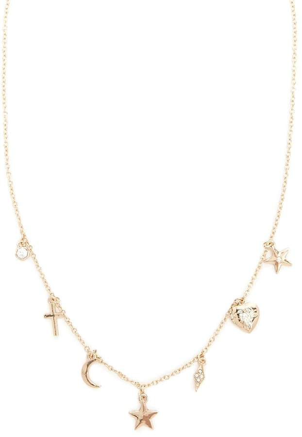 Forever 21 Cosmic Charm Necklace