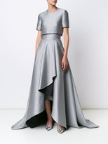 Jason Wu Evening Double Face Gown With Draped Front