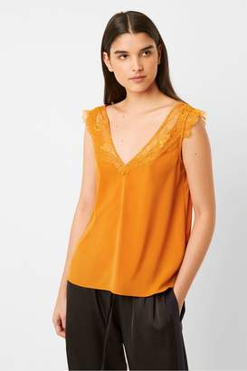 French Connection Chioma Light Lace Top