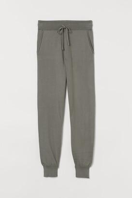 H&M Cashmere-blend joggers