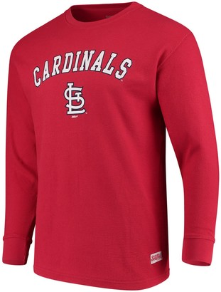 Stitches Men's Red St. Louis Cardinals Long Sleeve Thermal T-Shirt