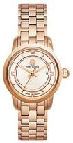 Tory Burch Tory Watch, Rose Gold-Tone/Ivory, 28 Mm