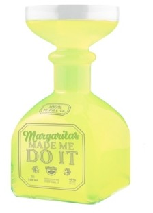 Big Mouth Inc. Margarita Glass Bottle Wine Glass