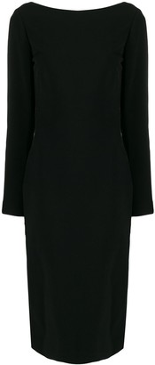Tom Ford backless fitted dress