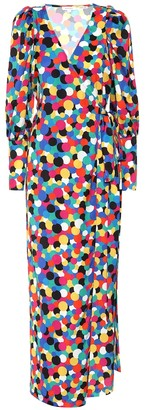 Rhode Resort Printed wrap dress
